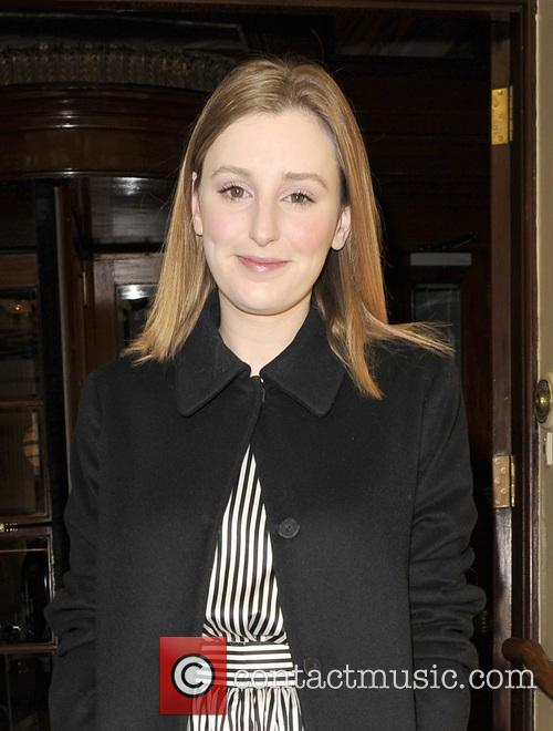 Laura Carmichael leaving a hotel