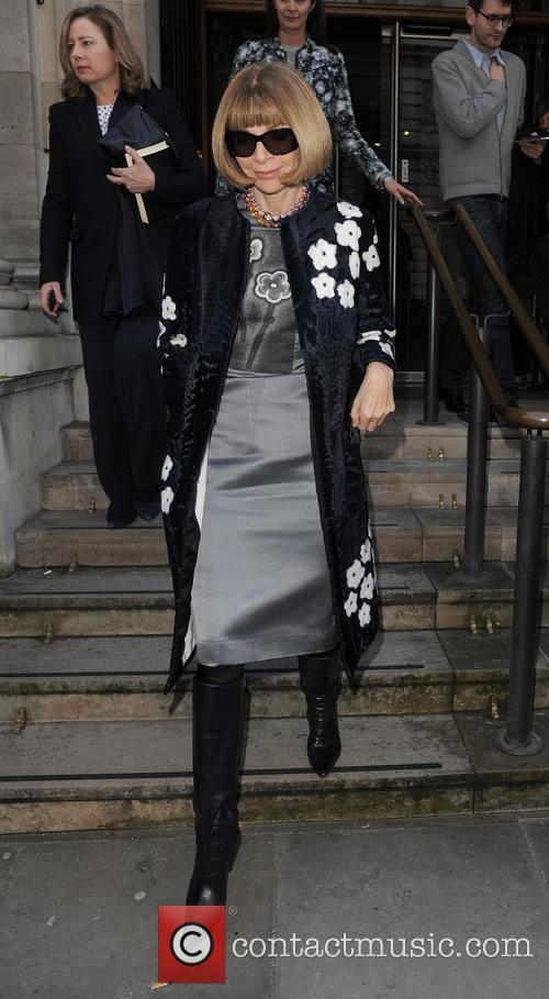 Anna Wintour, London Fashion Week