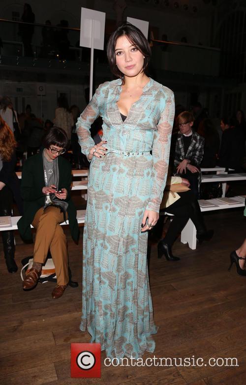 Daisy Lowe, London Fashion Week