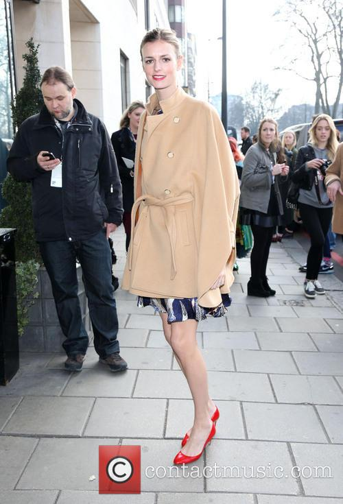LFW Temperley London arrivals