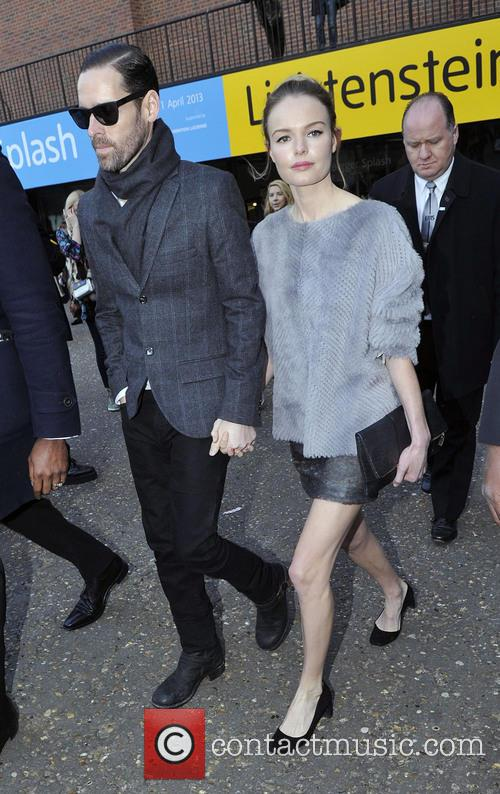 michael polish kate bosworth london fashion week  3509559