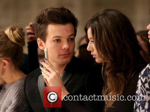 Louis Tomlinson and Girlfriend Eleanor Calder 2