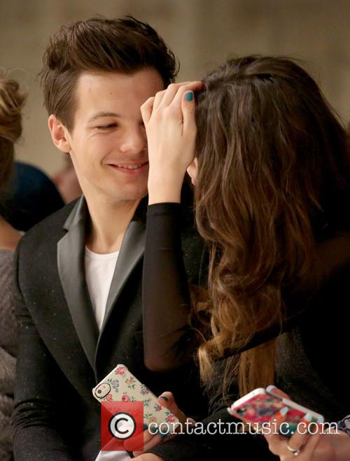Louis Tomlinson and Girlfriend Eleanor Calder 3