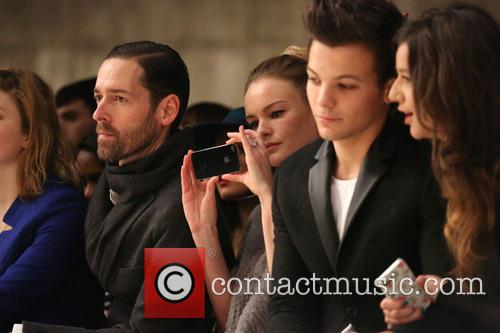 Michael Polish, Kate Bosworth, Louis Tomlinson and Girlfriend Eleanor Calder 1