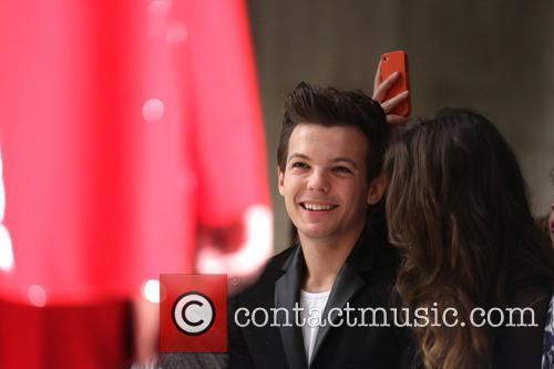 Louis Tomlinson, girlfriend Eleanor Calder, London Fashion Week