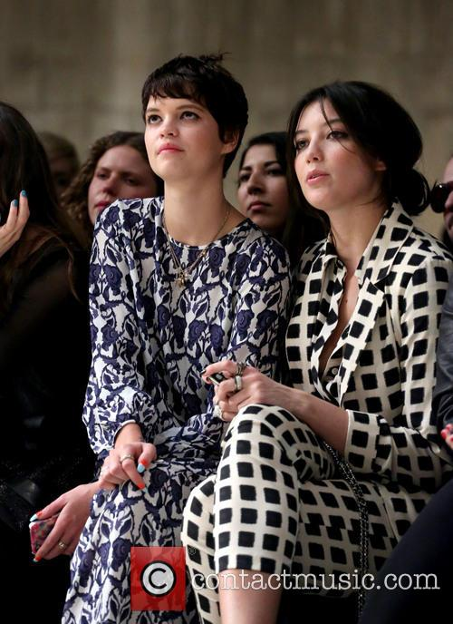 Pixie Geldof, Daisy Lowe, London Fashion Week