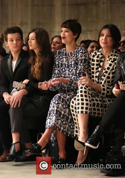 Louis Tomlinson, Eleanor Calder, Pixie Geldof and Daisy Lowe 8