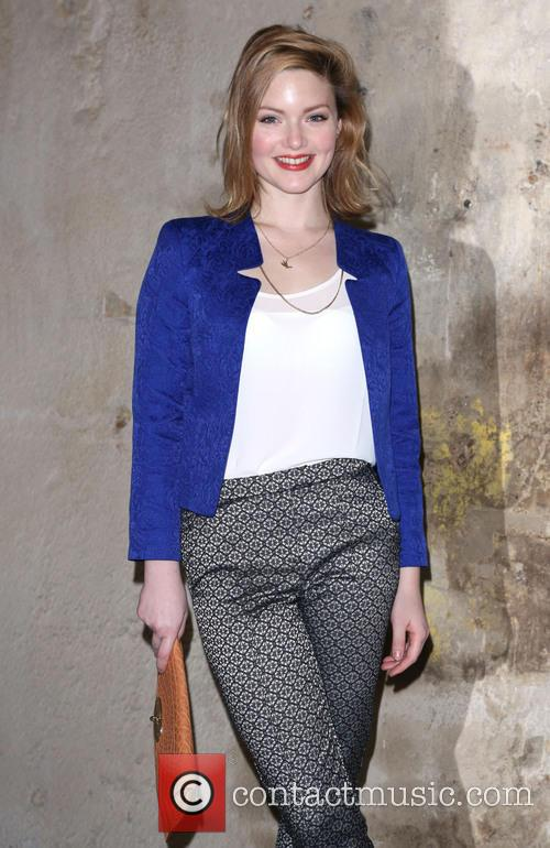 Holliday Grainger, London Fashion Week