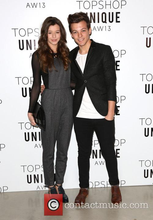 Louis Tomlinson and Girlfriend Eleanor Calder 1