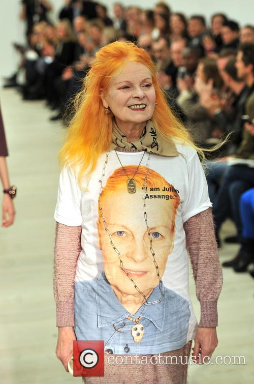 LFW Vivienne Westwood RED Label catwalk
