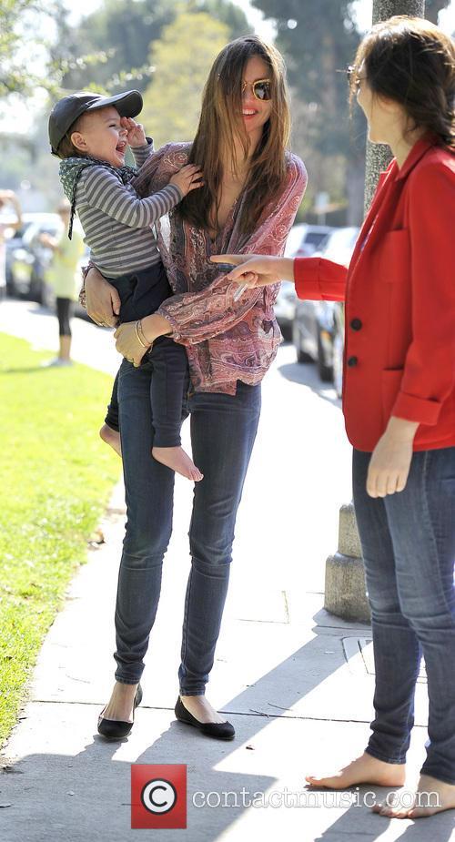 Miranda Kerr and Flynn Bloom 2