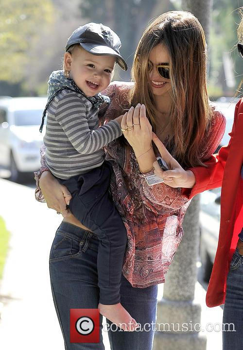 Miranda Kerr With Son