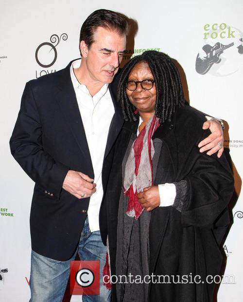 Chris Noth and Whoopi Goldberg 5