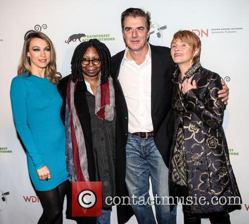 Natalie Zea, Whoopi Goldberg, Chris Noth and Shawn Colvin 1