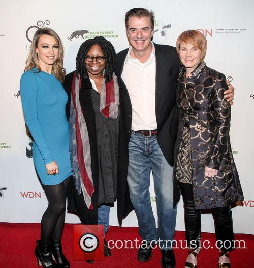 Natalie Zea, Whoopi Goldberg, Chris Noth and Shawn Colvin 2