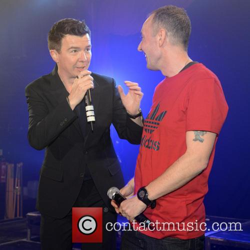 Rick Astley performs at G-A-Y