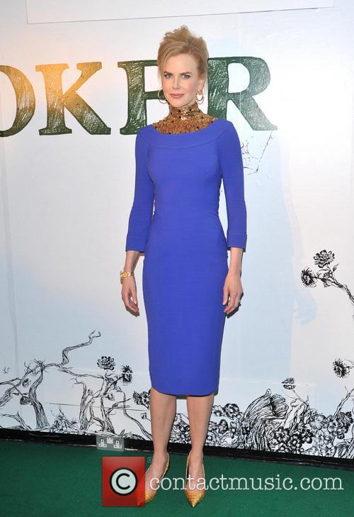 Nicole Kidman at the Stoker Premiere