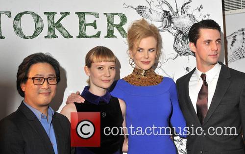 Nicole Kidman, Matthew Goode, Mia Wasikowska and Park Chan-Wook 2