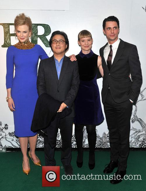 The cast of Stoker at the London premiere