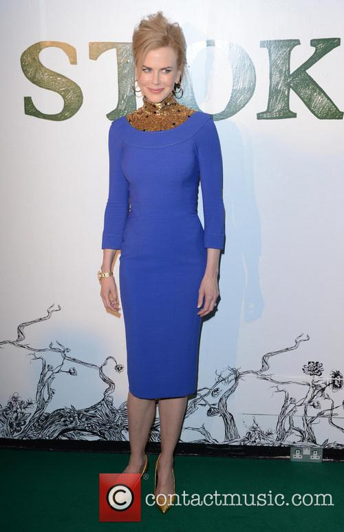 Nicole Kidman Wearing L'Wren Scott At The Stoker Premiere, London