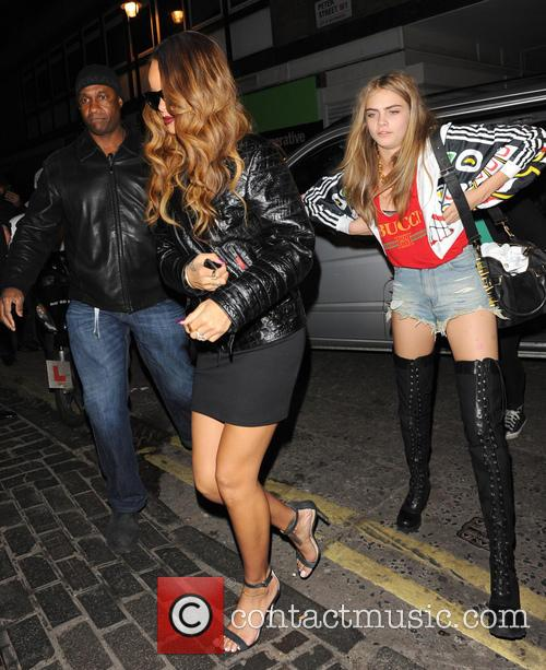 Rihanna and Cara Delevingne 9