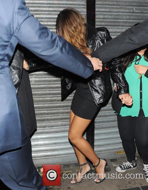 Rihanna, The Box Nightclub, London