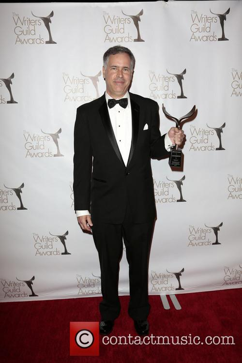 Writer Dan Greenberger and winner of the Writers Guild Award for Outstanding Script On-Air Promotion (Radio or Television) 1