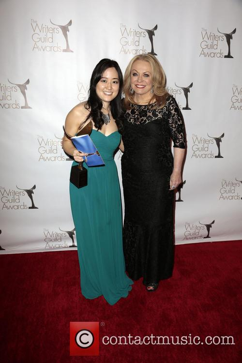 Jacki Weaver, Writer Elaine Ko, winner of the Writers Guild Award for Episodic Comedy, Writers Guild Awards