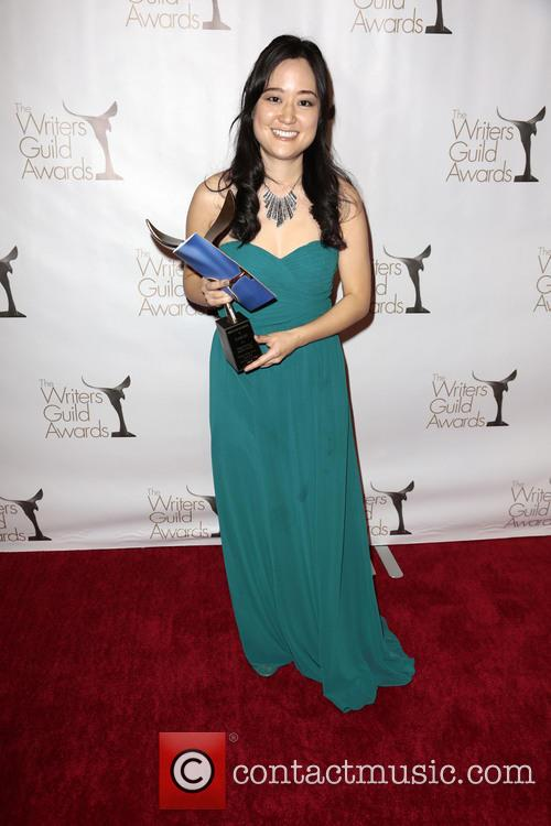 Writer Elaine Ko and Winner Of The Writers Guild Award For Episodic Comedy 1