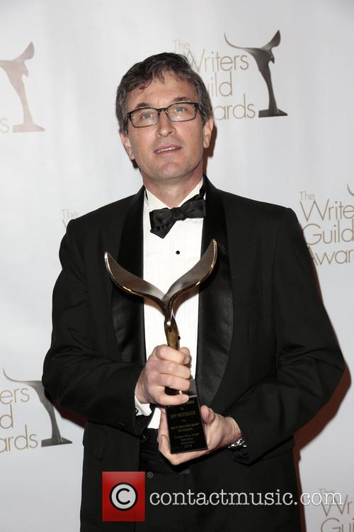 Writer Jeff Westbrook and Winner Of The Writers Guild Award For Animation 1