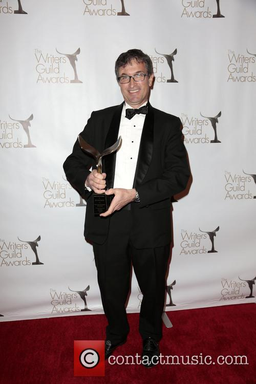 Writer Jeff Westbrook and Winner Of The Writers Guild Award For Animation 2