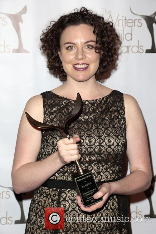 Writer Jill Murray and Winner Of The Writers Guild Award For Outstanding Video Game Writing 3