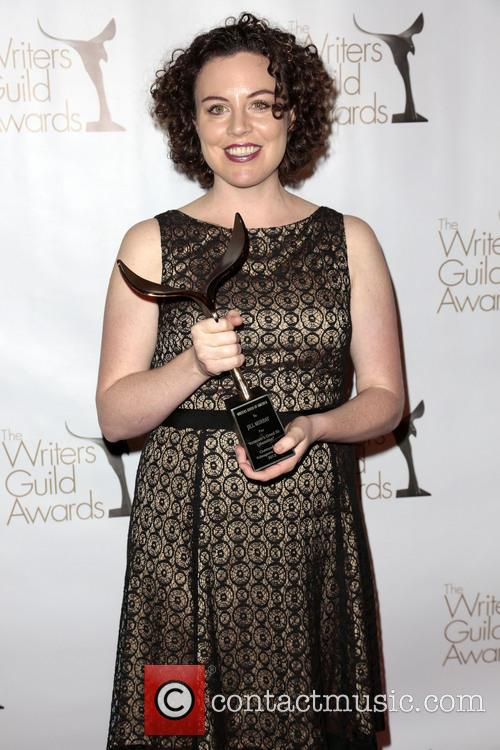 Writer Jill Murray and Winner Of The Writers Guild Award For Outstanding Video Game Writing 1
