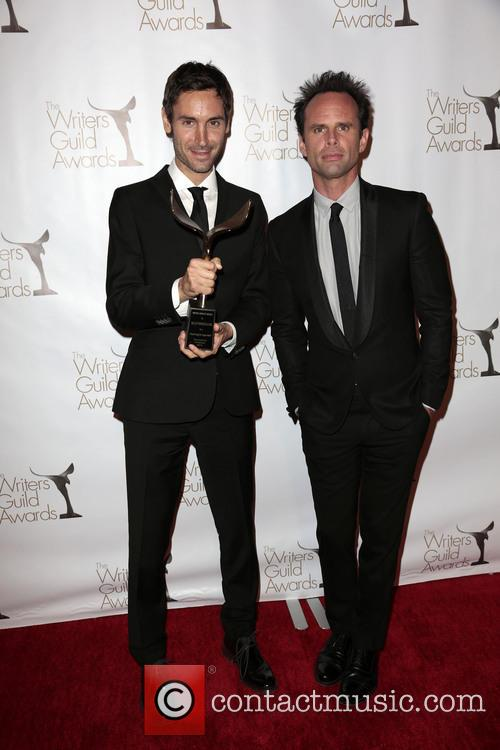Walton Goggins, Writer Malik Bendjelloul and Winner Of The Writers Guild Award For Documentary Screenplay (l) 4