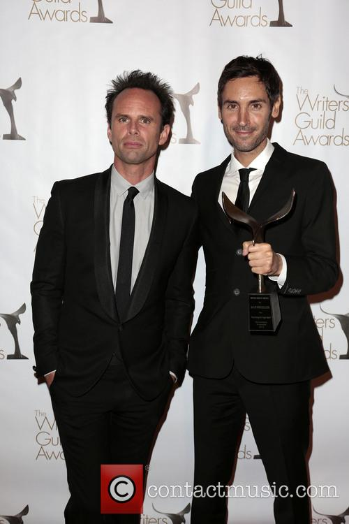 Walton Goggins, Writer Malik Bendjelloul and Winner Of The Writers Guild Award For Documentary Screenplay (r) 5