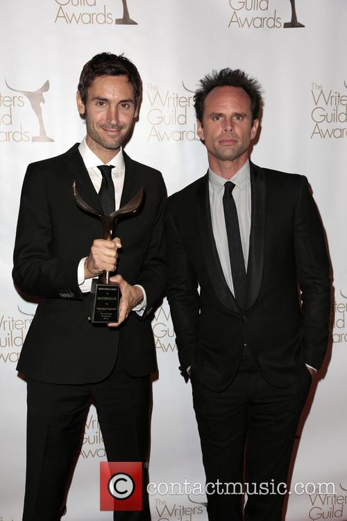 Walton Goggins, Writer Malik Bendjelloul and Winner Of The Writers Guild Award For Documentary Screenplay (l) 6