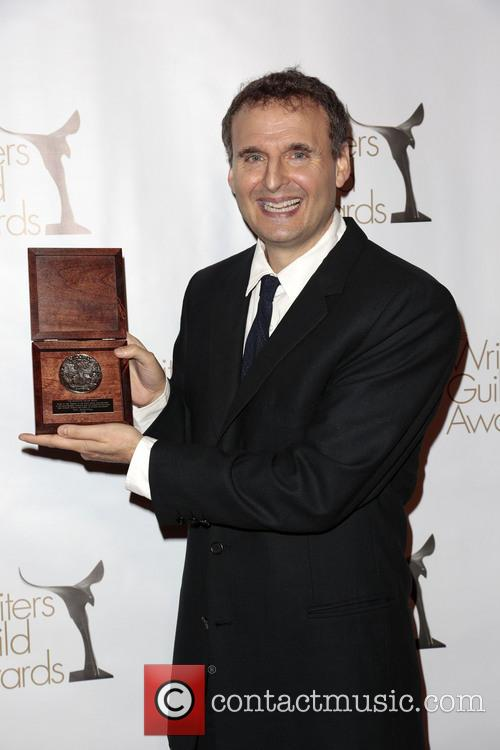 Writer Phil Rosenthal Poses With The Writers Guild Valentines Davies Award 4