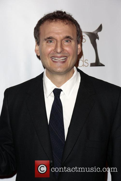 Writer Phil Rosenthal Poses With The Writers Guild Valentines Davies Award 5