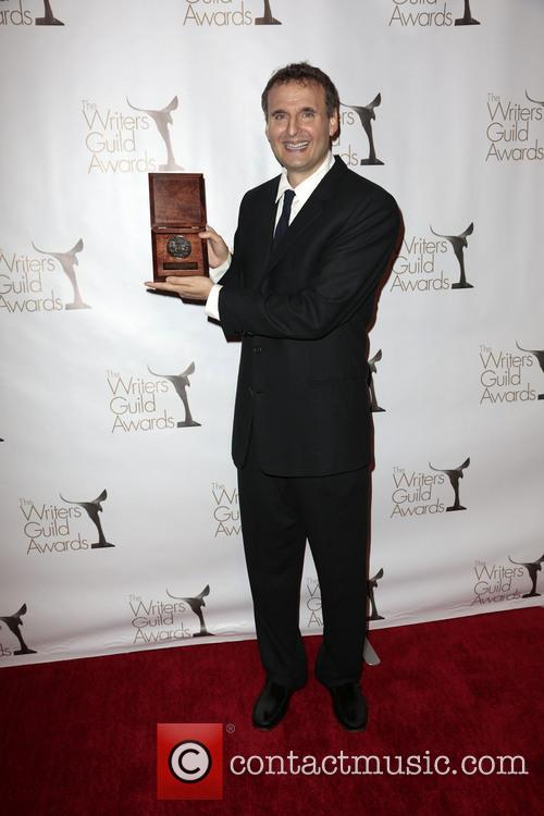 Writer Phil Rosenthal Poses With The Writers Guild Valentines Davies Award 1