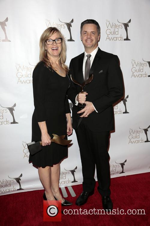 Writers Annie Deyoung, Ron Mcgee and Winners Of The Writers Guild Award For Children's - Long Form Or Special 2