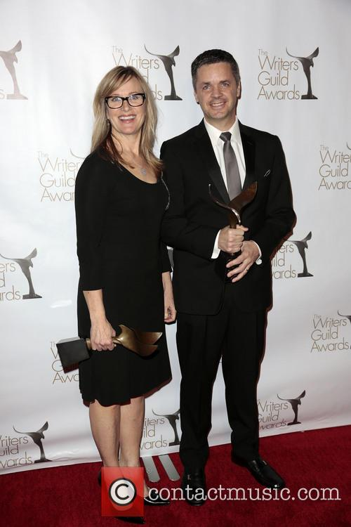 Writers Annie Deyoung, Ron Mcgee and Winners Of The Writers Guild Award For Children's - Long Form Or Special 3