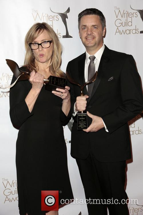 Writers Annie Deyoung, Ron Mcgee and Winners Of The Writers Guild Award For Children's - Long Form Or Special 4