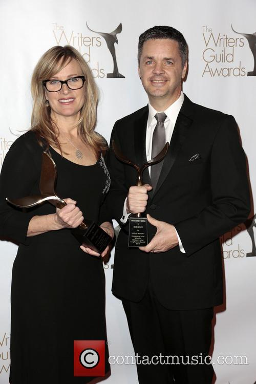 Writers Annie Deyoung, Ron Mcgee and Winners Of The Writers Guild Award For Children's - Long Form Or Special 6