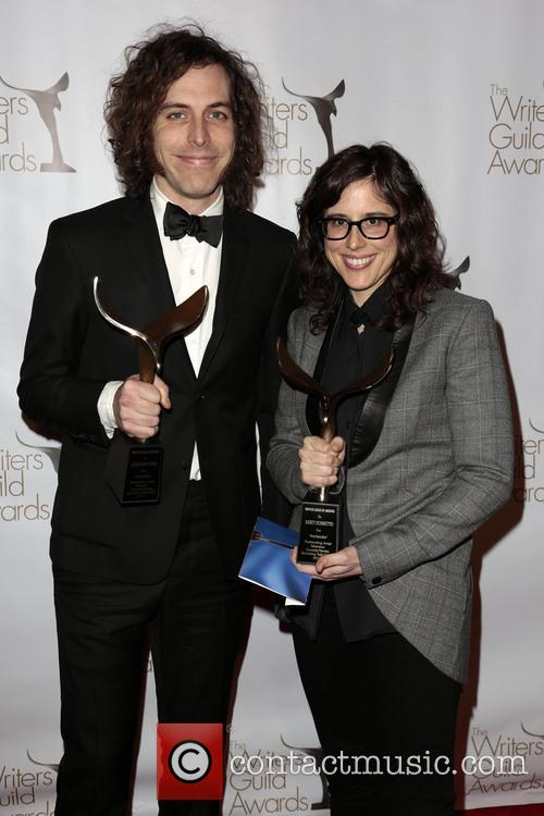 Writers Jonathan Krisel, Karey Dornetto, Winners Of The Writers Guild Award For Outstanding Script Television and Comedy/variety Series 4