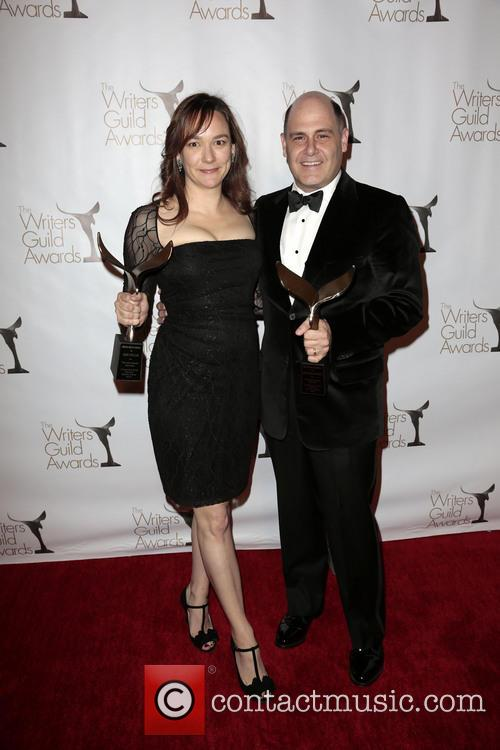 Semi Chellas, Matthew Weiner, Winners Of The Writers Guild Award For Outstanding Script Television and Episodic Drama
