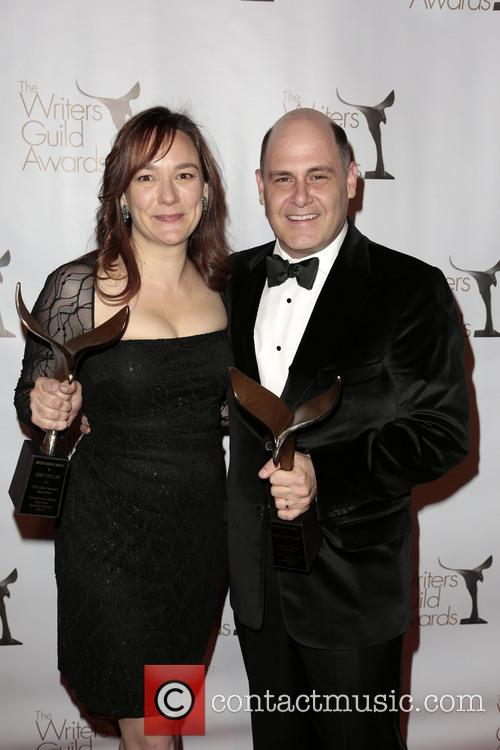 Semi Chellas, Matthew Weiner, Winners Of The Writers Guild Award For Outstanding Script Television and Episodic Drama 3
