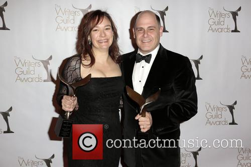 Semi Chellas, Matthew Weiner, Winners Of The Writers Guild Award For Outstanding Script Television and Episodic Drama 1