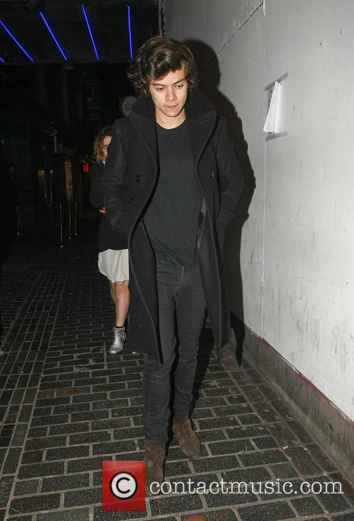Harry Styles Leaves The Box Club