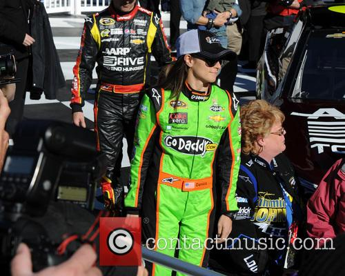 danica patrick danica patrick poses after becoming the 3511683