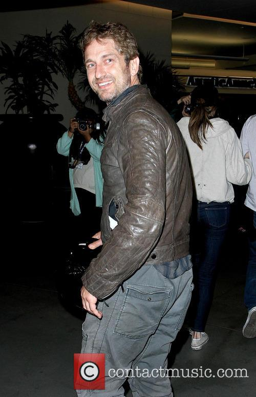Gerard Butler leaving the 8th Annual Los Angeles...